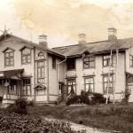 vanha koulurakennus