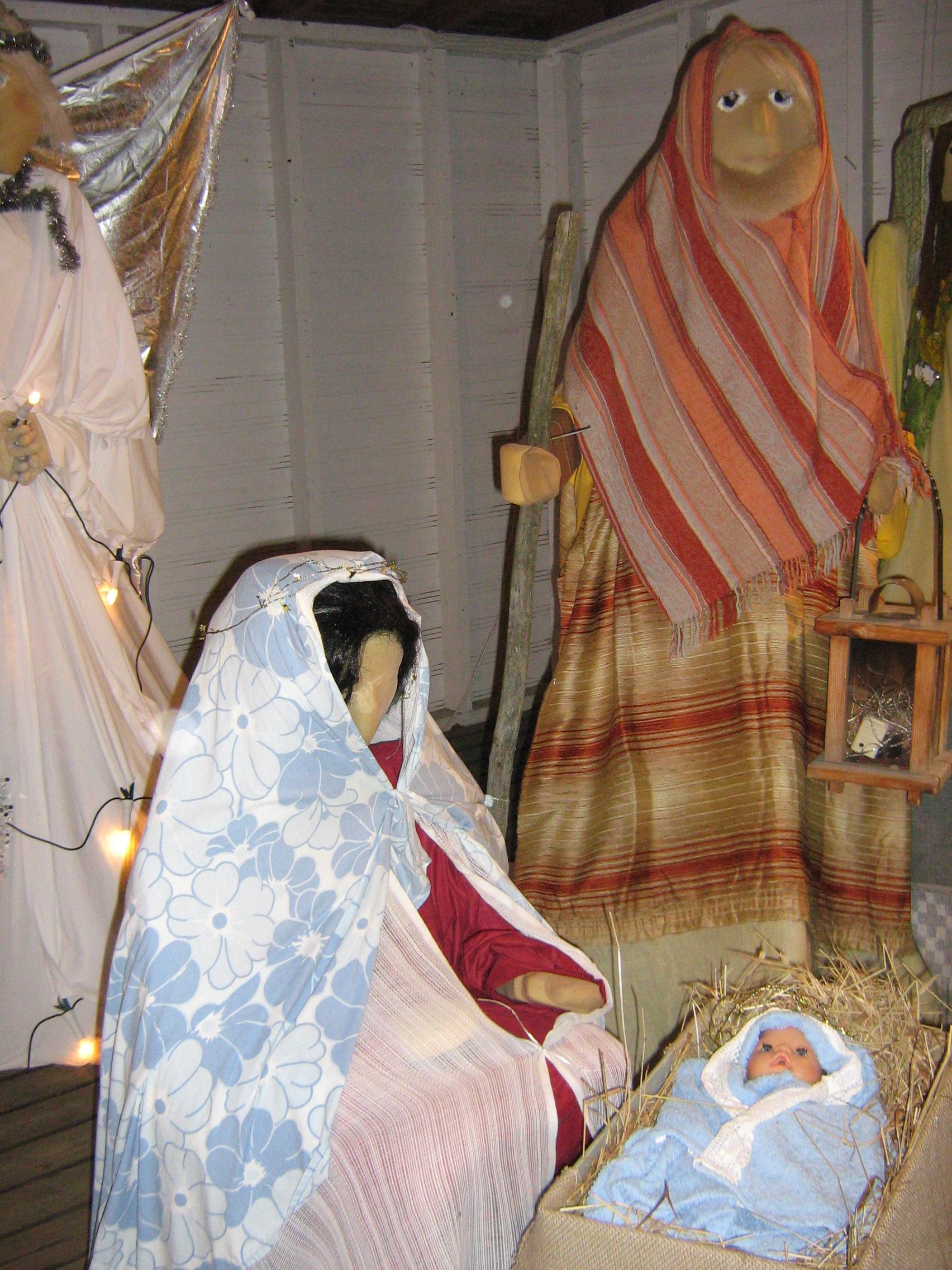 Maria, Joosef ja Jeesus-lapsi